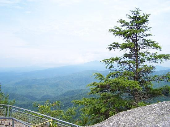 The Blowing Rock: View from Blowing Rock