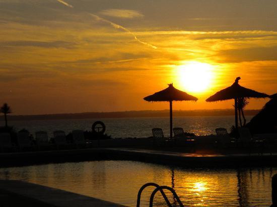 Insotel Club Maryland: tramonto a bordo piscina