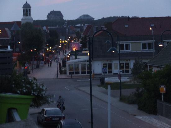 Hotel Kogerstaete 4 sterren : Zicht balkon bij avond