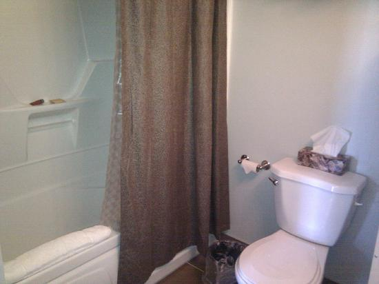 Gros Morne Suites: spotless bathroom