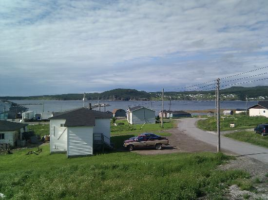 Gros Morne Suites: view from balcony
