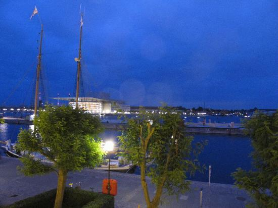 Copenhagen Admiral Hotel: view from the room