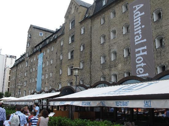 Copenhagen Admiral Hotel: bar and resturaunt