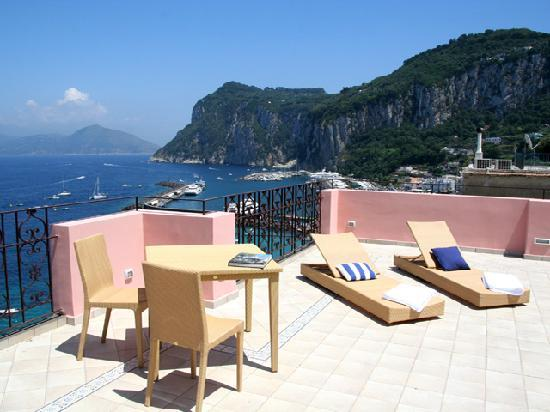 Capri Inn: panoramic terrace