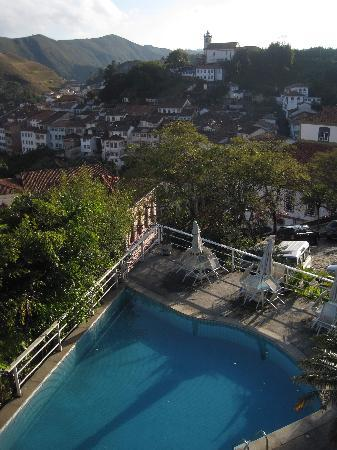 Grande Hotel de Ouro Preto: View from the balcony of my room