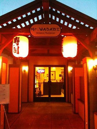 Mr Wasabi: Outside of the restaurant