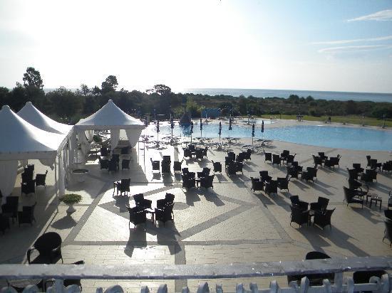 Hotel Club Baia del Porto: il sole sta' per nascere