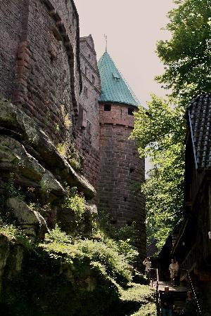 Hostellerie de la Pommeraie : Koenigsbourg Castle