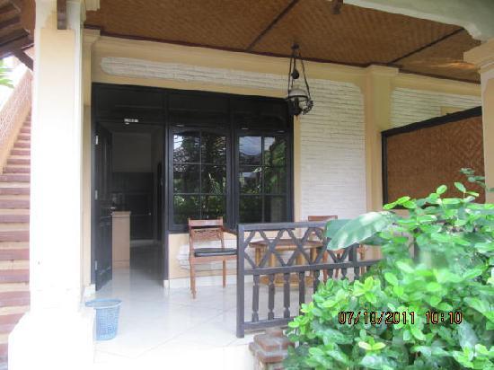 Fat Yogi Cottages: our fav room #104 ground floor beside pool