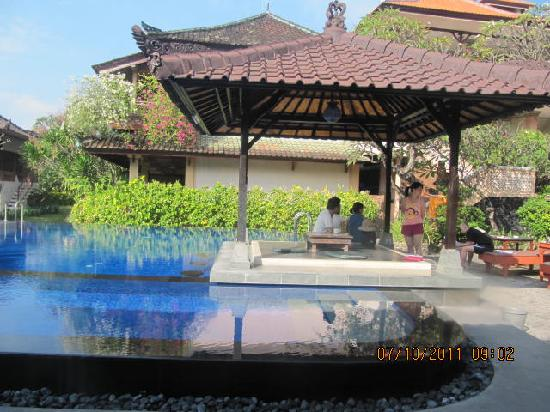 Fat Yogi Cottages: pool