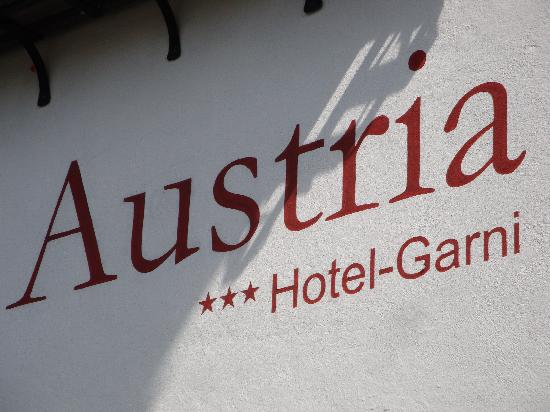 Hotel Garni Austria : Impression 1