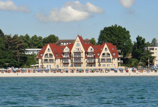 Grömitz, Deutschland: Ansicht vom Wasser