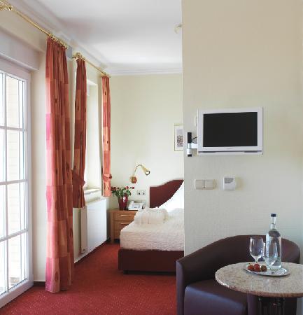 Strandhotel Grömitz: Großzügige Zimmer