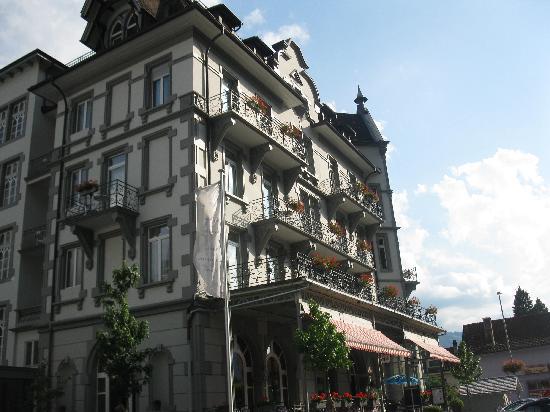 Carlton-Europe Hotel: The Carlton half of the hotel