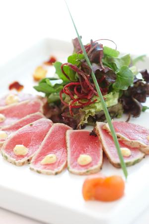 Katsuya by Starck - Laguna Beach: Herb Crusted Tuna