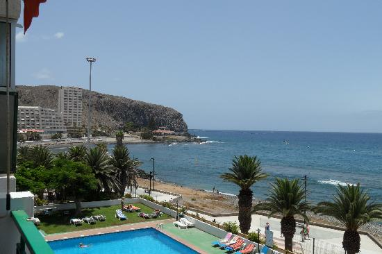 Comodoro Apartments: View from the balcony