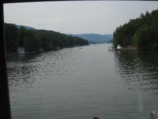Larkin's On The Lake: the view from our table