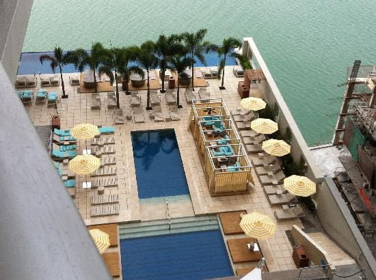 Trump Ocean Club International Hotel & Tower Panama: Vista desde Ocean View Room