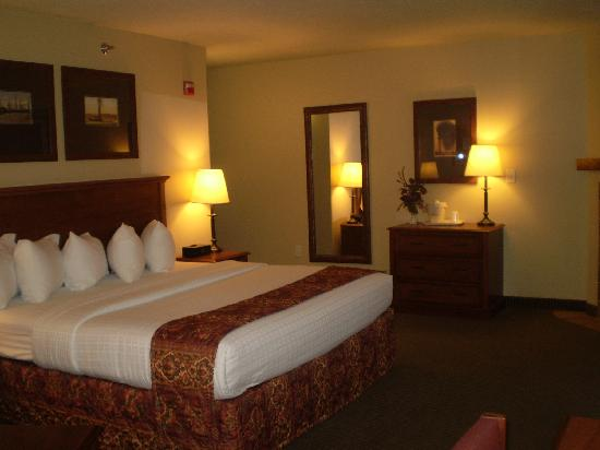 Borger Ambassador Inn: Beautiful room!