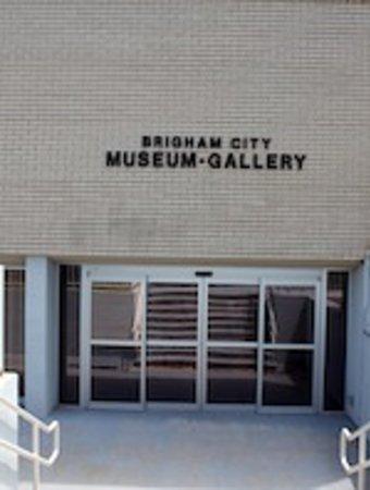 Brigham City, UT: Museum exterior