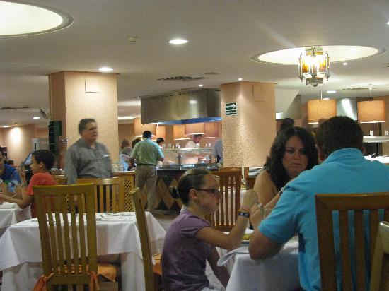 Hotel Palmasol: COMEDOR
