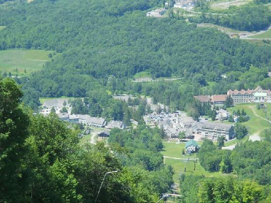 Country Inn at Jiminy Peak: View from the ski lift