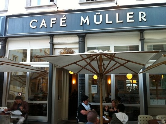 Cafe Müller: don't come here.