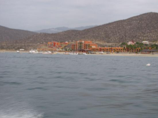 Los Barriles, Μεξικό: View of Palmas de Cortez from boat.