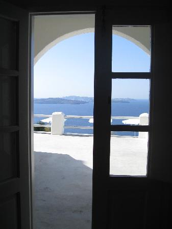 Oia Suites: Wonderful views.