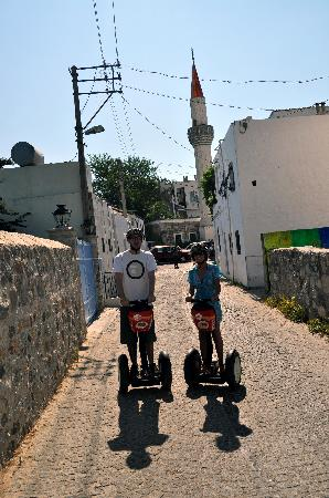 Aegean Gingers Segway Tours: The oldest Mosque in Bodrum
