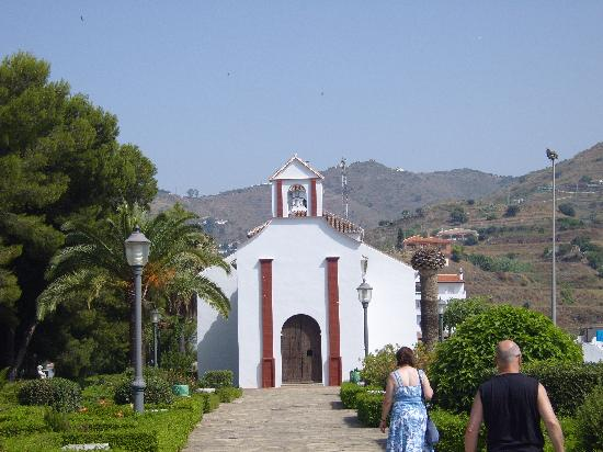 Algarrobo, Spain: church