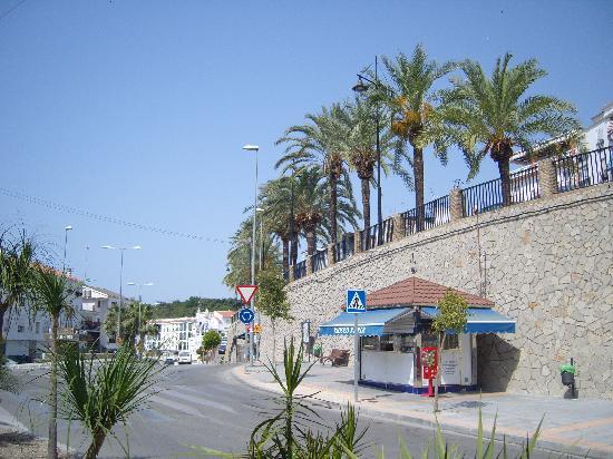 Algarrobo, Spain: street