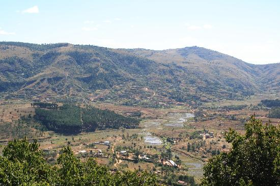 Ambohimanga: view from the palace wall