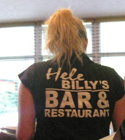 Hele Billy's Bar & Restaurant: Good service
