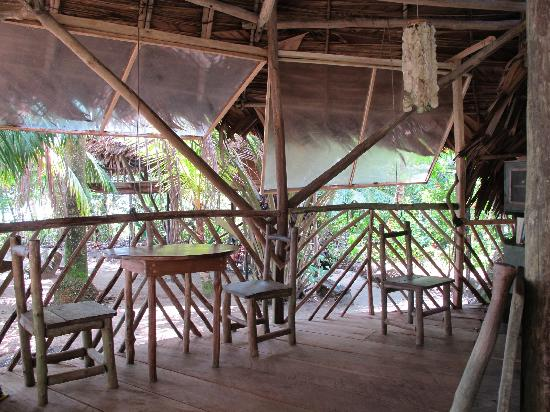 Flowas Bungalows : restaurant