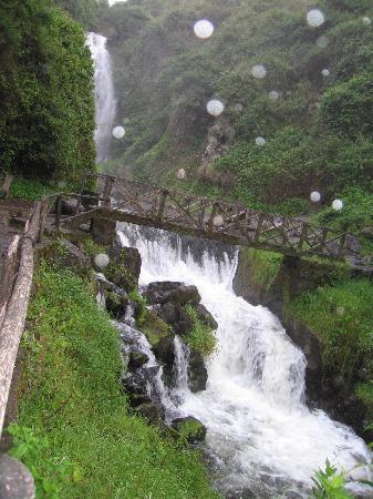 Peguche waterfall - Otavalo