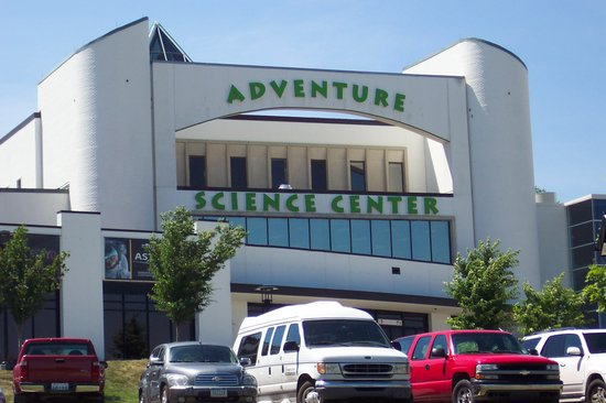 Nashville Tennessee With Kids : Adventure Science Museum
