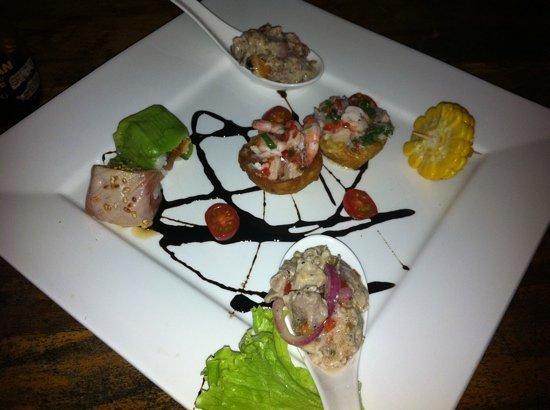 Restaurante Alma de Santa Teresa: Tasting plate