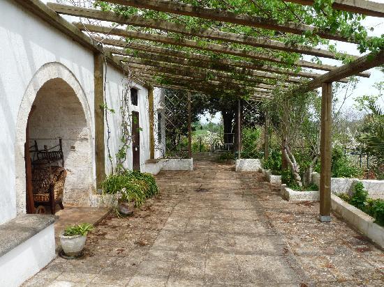 Agriturismo Masseria San Benedetto: the porch of the farm building