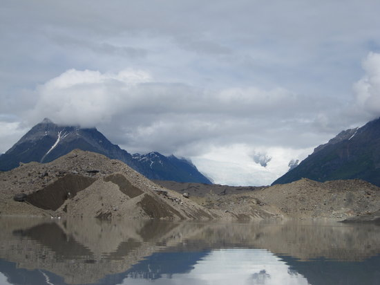 McCarthy River Tours & Outfitters - Day Tours : The glaciers surrounding the lake