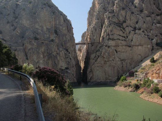 Ardales, Spain: First contact with Camino del Rey