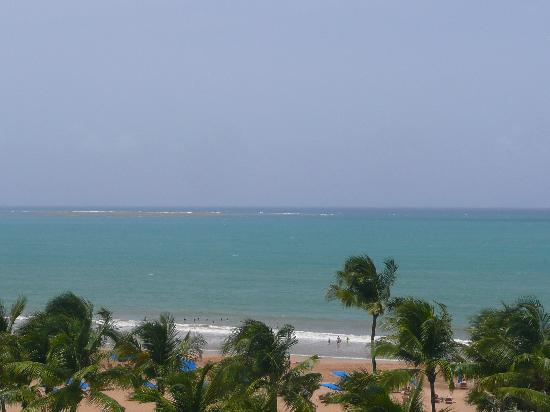 Ocean From The Hotel Balcony Picture Of Wyndham Grand