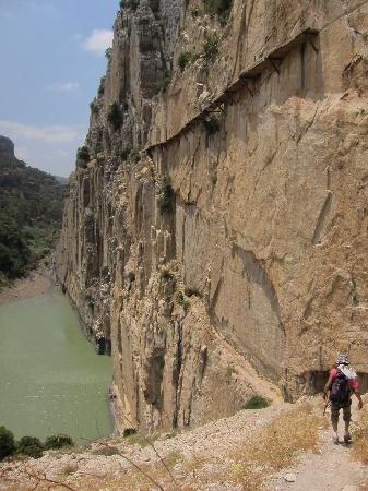 El Chorro, Spain: The approach