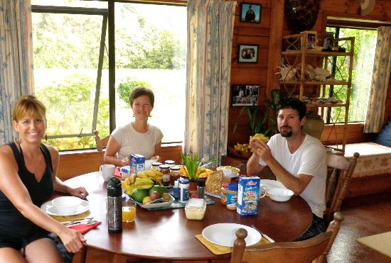 Atiu Homestay: Lovely Breakfast