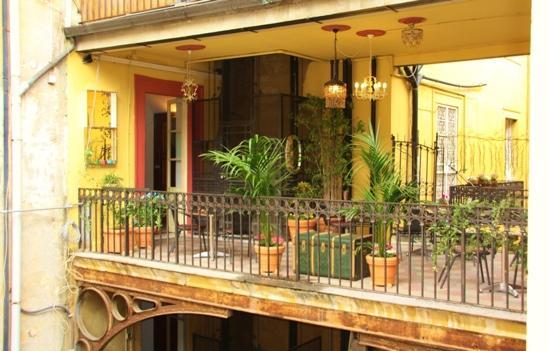 L Accogliente Terrazza Picture Of Hotel Oceania Rome