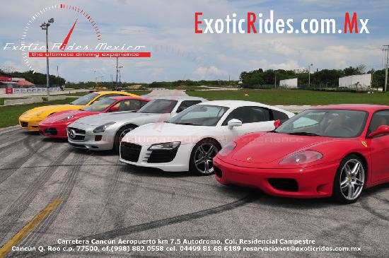 Exotic Car Rental Cancun