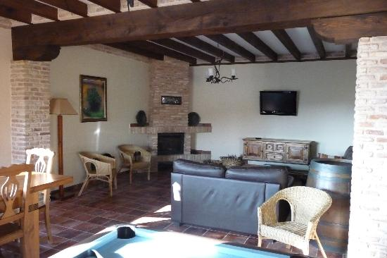 Pago de Trascasas : One of the guest sitting rooms