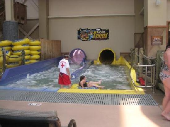 Wilderness at the Smokies Resort: Waterslides were a favorite of the grandchildren!