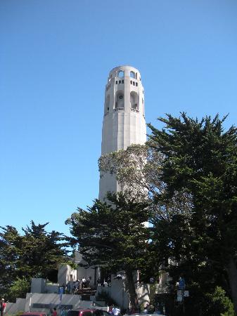 แฮมป์ตันอินน์ฯซานฟรานซิสโกเบอร์ลิงเกมแอร์พอร์ตเซาท: Coit Tower, San Francisco CA