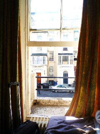 Wedgewood Hotel: Sicht aus dem Fenster